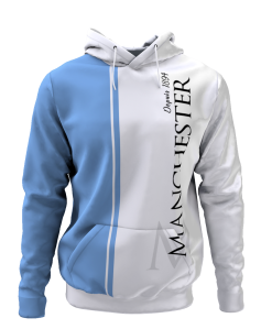 Hoodie Manchester depuis 1894 - Supporters Manchester City