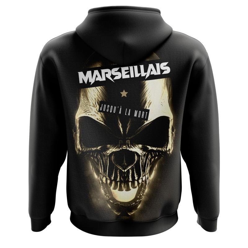 Zipped hoodie Marseillais...