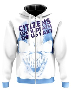 Zipped Hoodie Citizens until death do us part - Supporters Manchester City