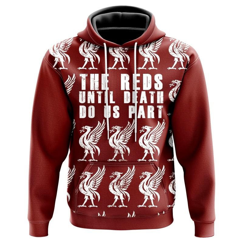 Hoodie Reds until death do...