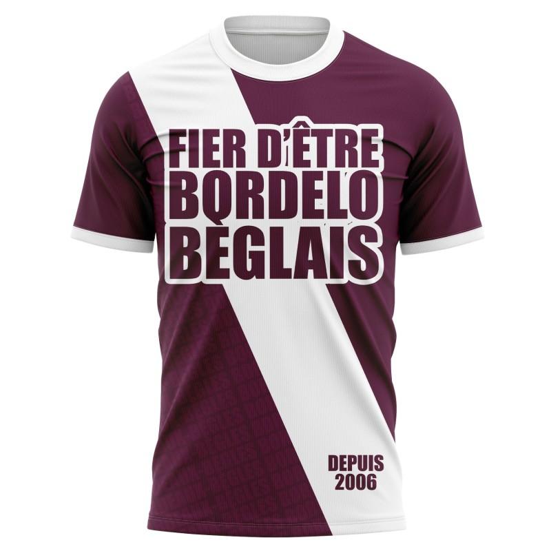T-shirt Fier d'être Bordelo...