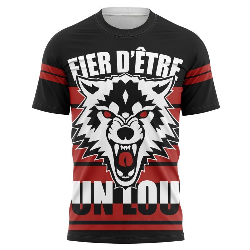 T-shirt Fier d'être un LOU...