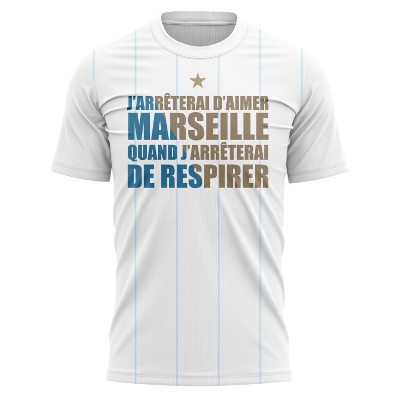 T-shirt J'arrêterai d'aimer...