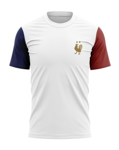 T-shirt Blue White Red - Supporters France