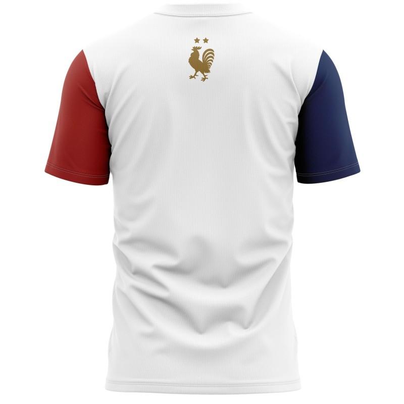 T-shirt Bleu Blanc Rouge -...