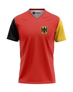 T-shirt Germany V-neck - Supporters Germany