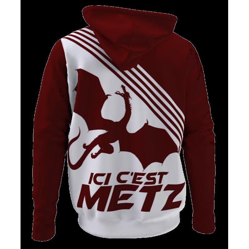 Hoodie Ici c'est Metz -...