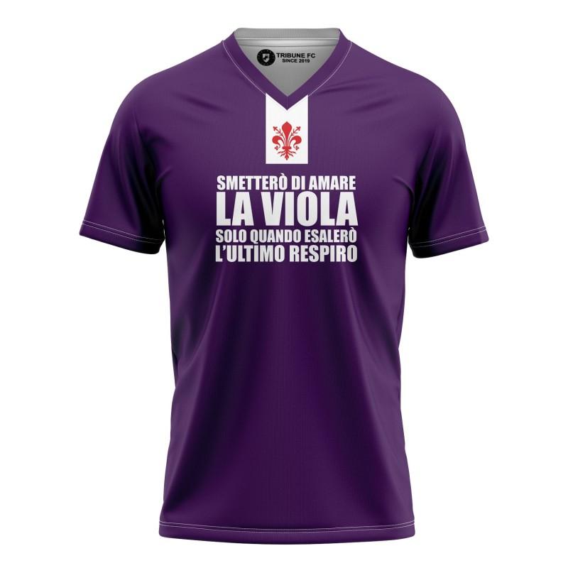 T-shirt Smetterò di amare...
