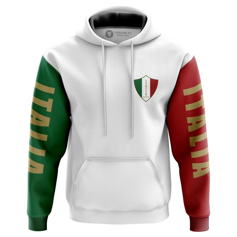 Sweat à capuche italia -...