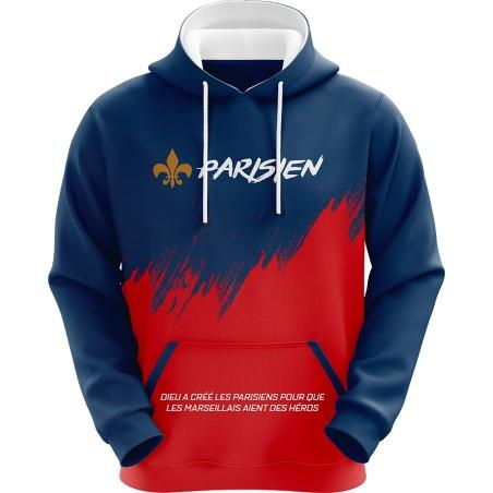 Kapuzensweatshirt Parisien...